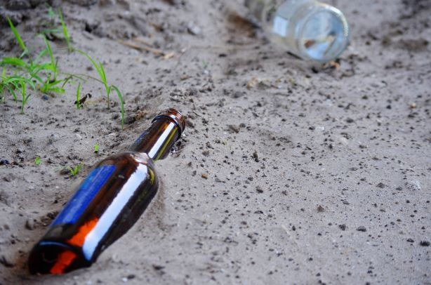Bottles in the Sand - Drunk Driving in Florida