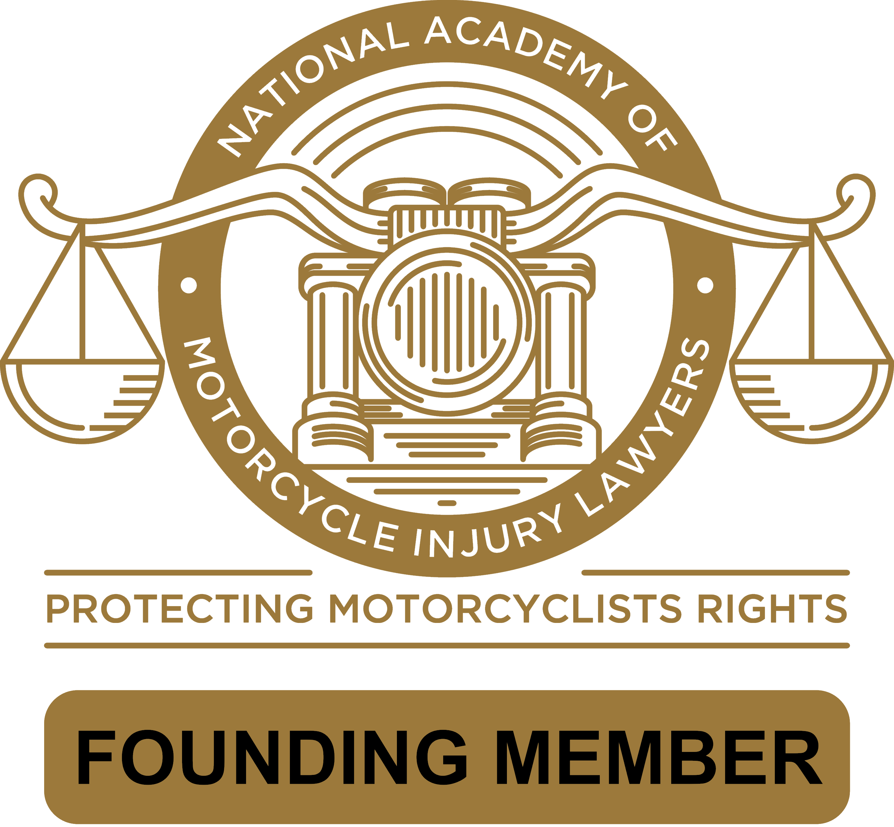 National Academy of Motorcycle Injury Lawyers Founding Member logo